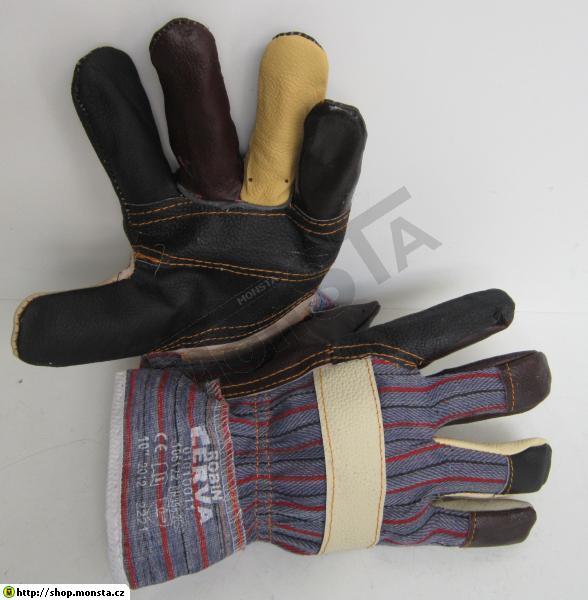 Rukavice ROBIN barevné prsty vel. 10  639ce88da2