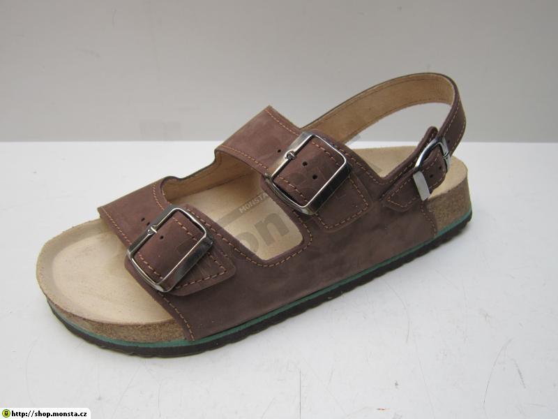 0017d4f76ddf Korkový sandál FÉNIX hnědý vel. 5